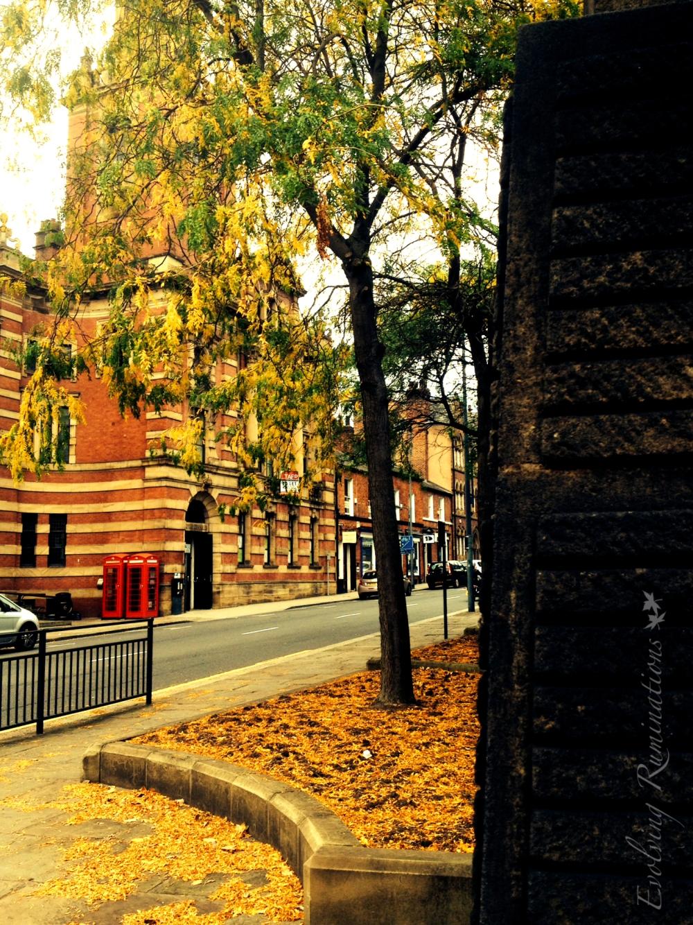 Fall round the corner